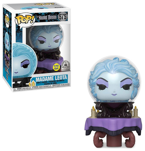 Funko Haunted Mansion 50th Anniversary POP! Disney Madame Leota Exclusive Vinyl Figure [Glow-in-the-Dark]