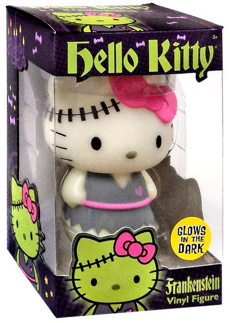 Funko Hello Kitty Halloween Frankenstein Exclusive 5-Inch Vinyl Figure [Glow in the Dark, Damaged Package]