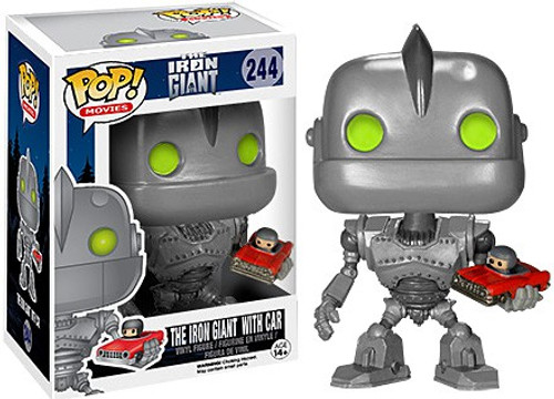 Funko POP! Movies The Iron Giant with Car Vinyl Figure #244 [Damaged Package]