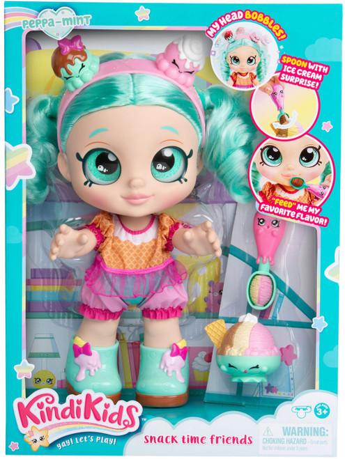 Kindi Kids Snack Time Friends Peppa-Mint Doll