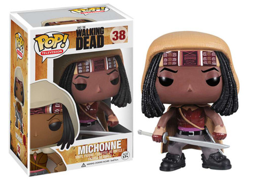 Funko The Walking Dead POP! TV Michonne Vinyl Figure #38 [Damaged Package]