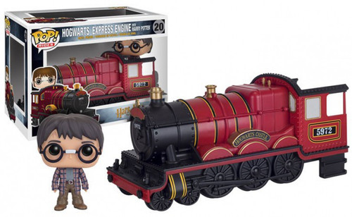 Funko Harry Potter POP! Rides Hogwarts Express Vinyl Figure #20 [Harry, Damaged Package]