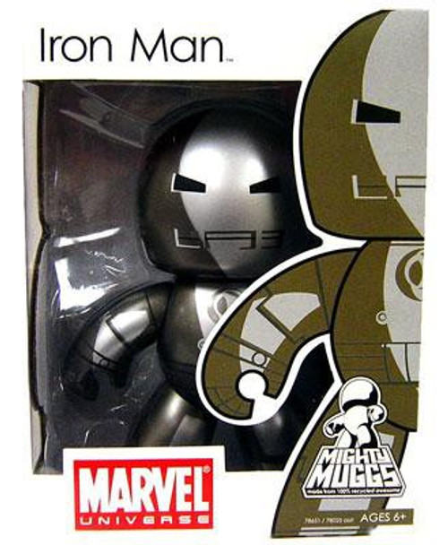 Marvel Mighty Muggs Series 5 Prototype Armor Iron Man Vinyl Figure [Damaged Package]