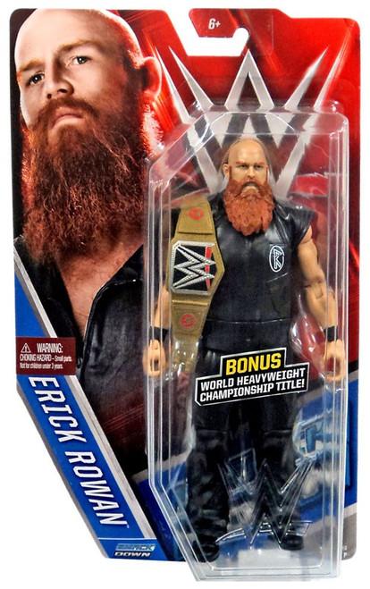 WWE Wrestling Series 57 Erick Rowan Action Figure [World Heavyweight Championship Title!, Damaged Package]