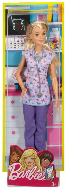 Nurse Barbie Doll [Damaged Package]