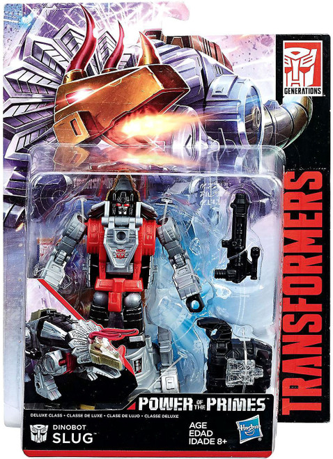 Transformers Generations Power of the Primes Dinobot Slug Deluxe Action Figure [Damaged Package]