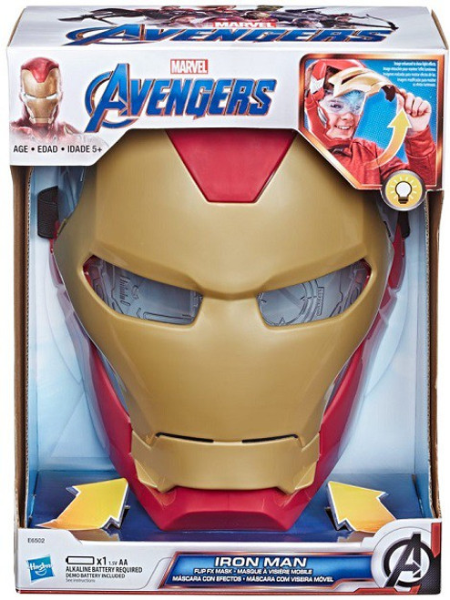 Marvel Avengers Flip FX Iron Man Mask