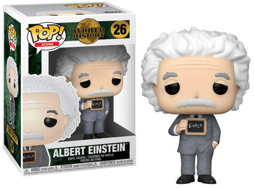 Funko POP! Icons Albert Einstein Vinyl Figure #26