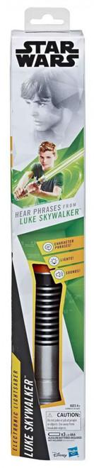 Star Wars Lightsaber Academy Level 2 Luke Skywalker Electronic Green Role Play Lightsaber