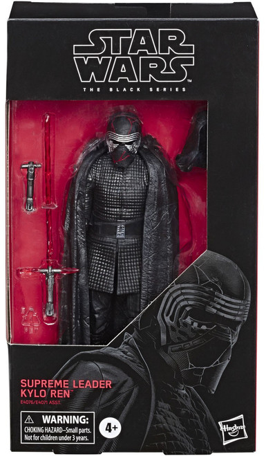 Star Wars The Rise of Skywalker Black Series Wave 33 Supreme Leader Kylo Ren Action Figure