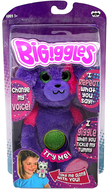 BIGiggles Percy the Pup 8.5-Inch Talking Plush Figure