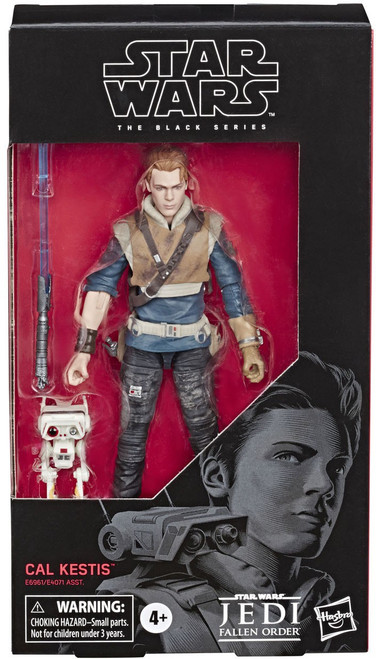 Star Wars Jedi: Fallen Order Black Series Wave 33 Cal Kestis with BD-1 Action Figure