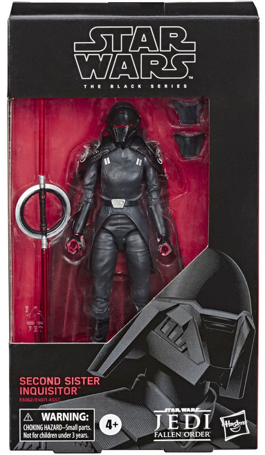 Star Wars Jedi: Fallen Order Black Series Wave 33 Second Sister Inquisitor Action Figure