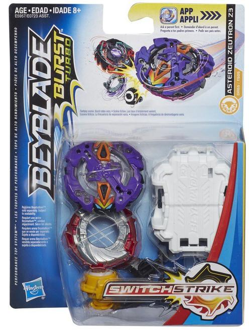Beyblade Burst Turbo Switchstrike Asteroid Zeutron Z3 Starter Pack
