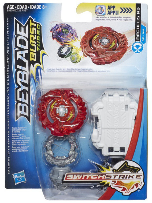 Beyblade Burst Turbo Switchstrike Regulus R3 Starter Pack [Red]