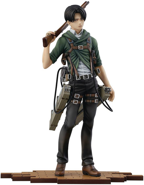 Attack on Titan Brave Act Levi 1/8 Collectible PVC Statue [Version 2A]