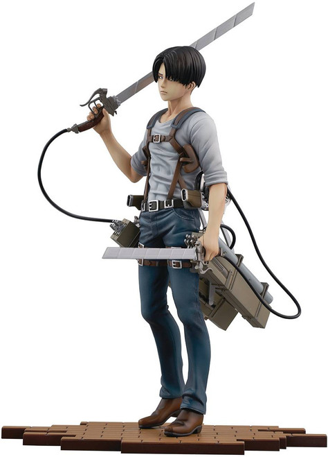 Attack on Titan Brave Act Levi 1/8 Collectible PVC Statue [Version 2B]