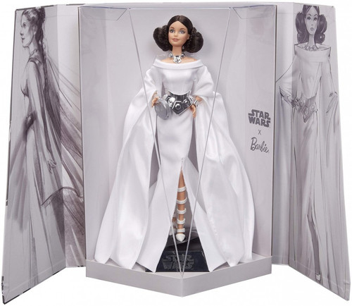 Star Wars x Barbie Gold Label Princess Leia x Barbie Doll