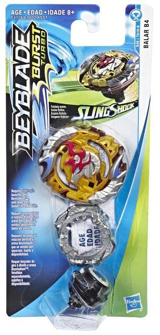 Beyblade Burst Turbo Slingshock Balar B4 Single Top