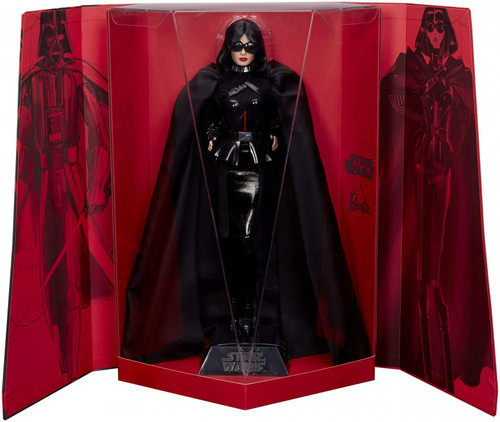 Star Wars x Barbie Gold Label Darth Vader x Barbie Doll