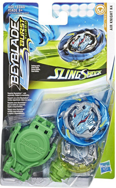 Beyblade Burst Turbo Slingshock Air Knight K4 Starter Pack