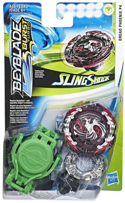 Beyblade Burst Turbo Slingshock Dread Phoenix P4 Starter Pack