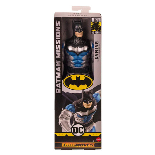 DC Batman Missions Sub Zero Batman Action Figure