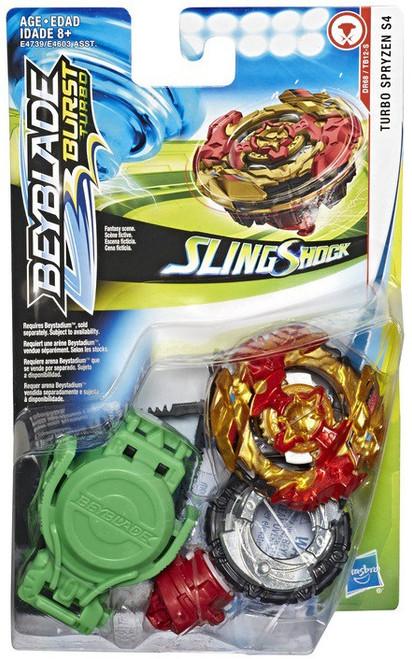 Beyblade Burst Turbo Slingshock Turbo Spryzen S4 Starter Pack
