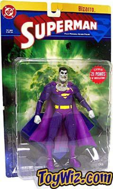 DC Superman Series 1 Bizarro Action Figure [Damaged Package]
