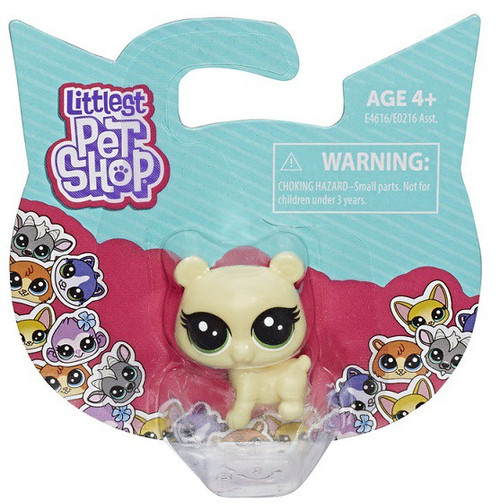 Littlest Pet Shop TV Series 2 Bear Mini Figure Pet