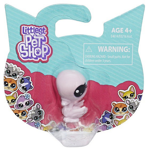 Littlest Pet Shop TV Series 2 Swan Mini Figure Pet