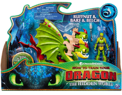 How to Train Your Dragon The Hidden World Ruffnut & Belch & Barf Action Figure 2-Pack