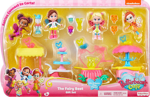 Fisher Price Butterbean's Cafe The Fairy Best Figure 4-Pack Gift Set [Butterbean, Cricket, Dazzle & Poppy]