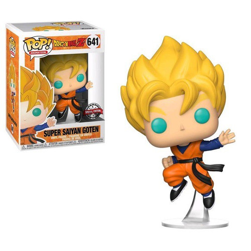 Funko Dragon Ball Z POP! Animation Super Saiyan Goten Exclusive Vinyl Figure #641