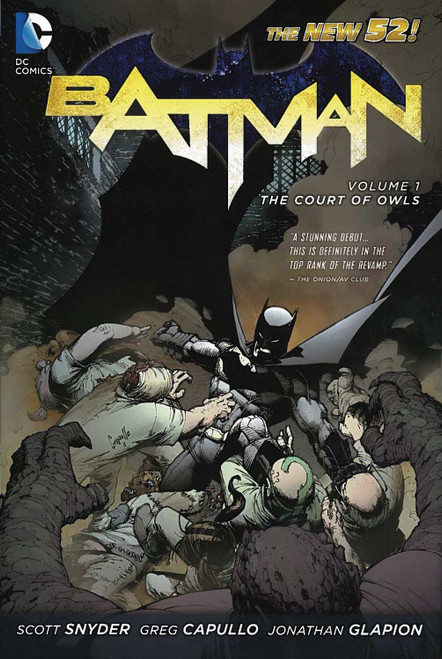 DC Batman Court of Owls Trade Paperback Comic Book #1 [The New 52]