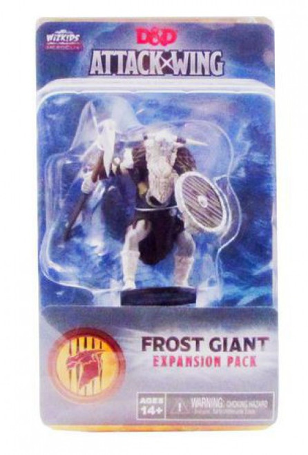 NECA D & D Attack Wing Frost Giant Wave One Expansion Miniature Game Accessory