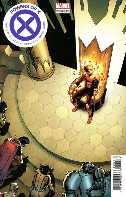 Marvel Powers of X #6 Comic Book [Foreshadow Variant Cover]