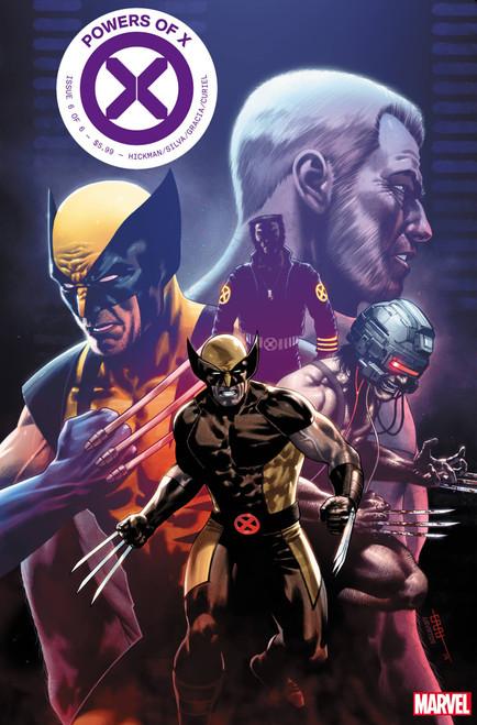 Marvel Comics Powers of X #6 Comic Book [Cafu Character Decades Variant Cover]