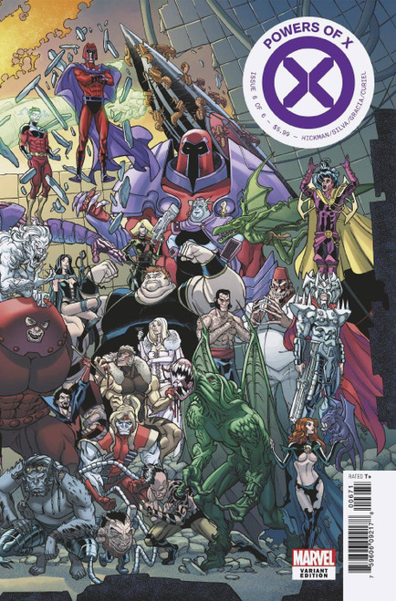 Marvel Powers of X #6 Comic Book [Garron Connecting Variant Cover]