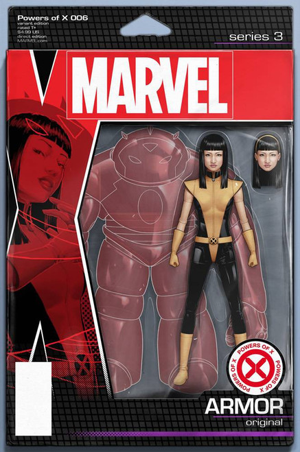 Marvel Powers of X #6 Comic Book [Action Figure Variant Cover]