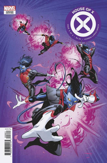 Marvel House of X #6 Comic Book [Coello Character Decades Variant Cover]