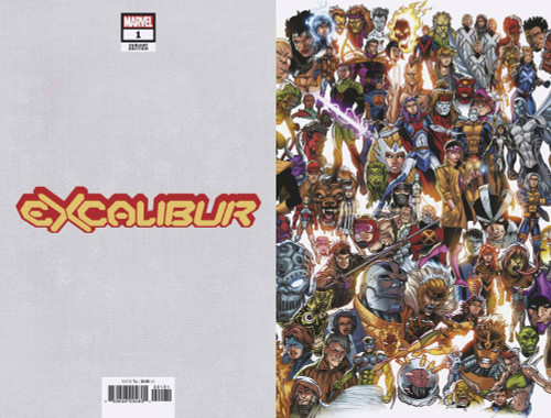 Marvel Comics Excalibur #1 Comic Book [Every Mutant Ever Variant Cover]