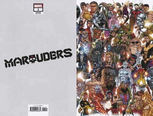 Marvel Comics Marauders #1 Comic Book [Every Mutant Ever Variant Cover]