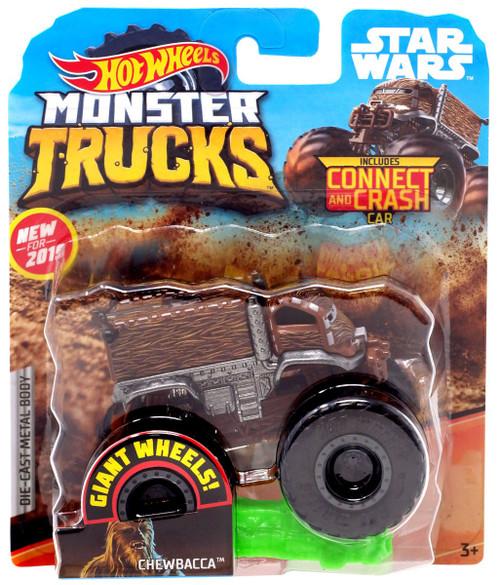 Hot Wheels Monster Trucks Star Wars Chewbacca Diecast Car