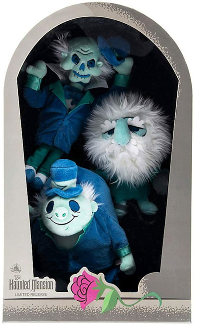 Disney Haunted Mansion 50th Anniversary Hitchhiking Ghosts Exclusive Plush Set 3-Pack [Limited Release]