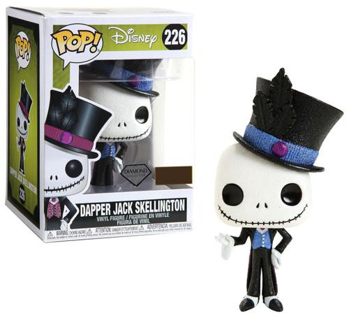 Funko Nightmare Before Christmas POP! Disney Dapper Jack Skellington Exclusive Vinyl Figure [Diamond Collection]