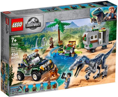 LEGO Jurassic World Baryonyx Face-Off: The Treasure Hunt Set #75935