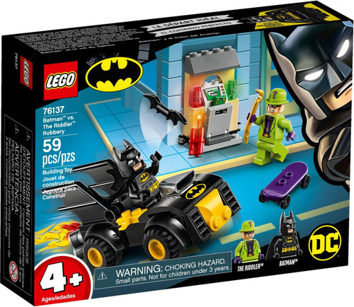 LEGO DC Batman vs. The Riddler Robbery Set #76137