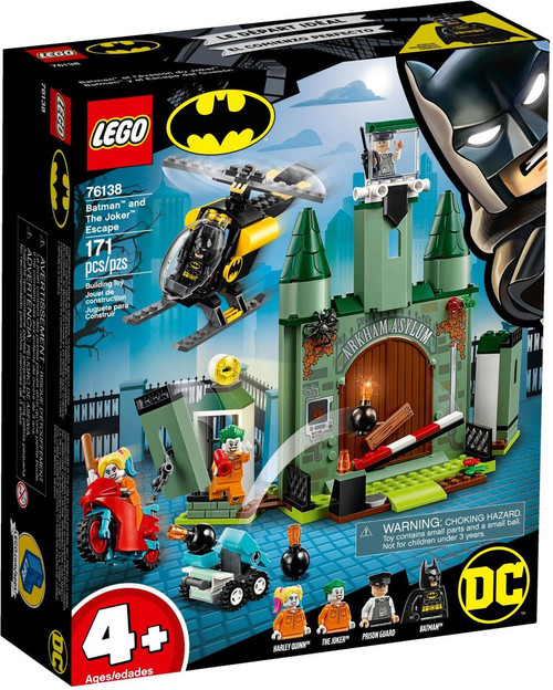 LEGO DC Batman & The Joker Escape Set #76138