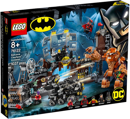 LEGO DC Batman Batcave Clayface Invasion Set #76122